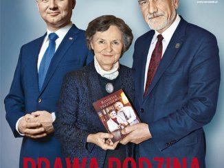 Okładka Newsweeka z rodziną Andrzeja Dudy