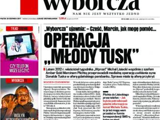 GW Operacja młody Tusk
