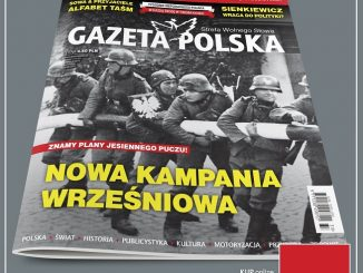 Okładka Gazety Polskiej 1
