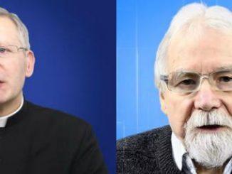 Ks. Henryk Zieliński i Jerzy Jachowicz