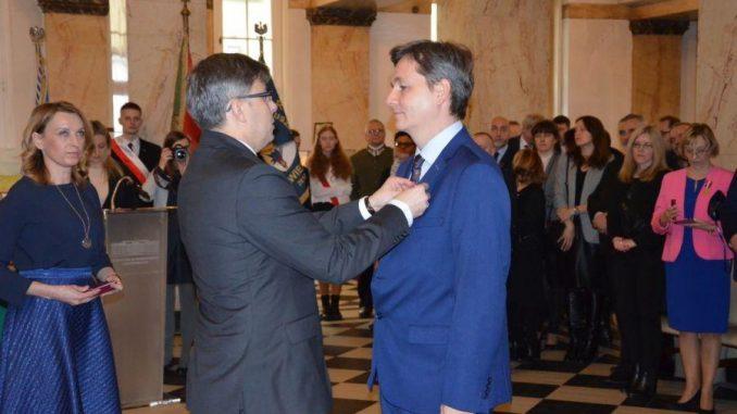 Wśród odznaczonych znalazł się również nasz kolega red. Jarosław Juszkiewicz
