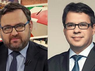 Wojciech Biedroń i Michał Karnowski