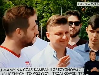 Patryk Jaki z pretensjami do Macieja Kluczki z TVN24