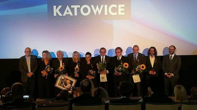 Pracownicy TVP3 Katowice odznaczeni Brązowym Krzyżem Zasługi