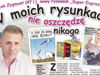 Jacek Zygmunt nowy rysownik SE