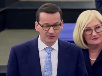 Mateusz Morawiecki w Parlamencie Europejskim