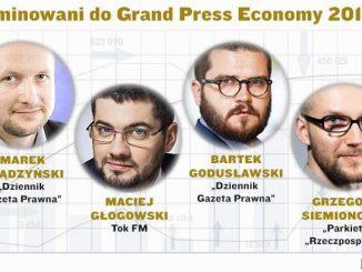 Nominowani do Grand Press Economy 2018