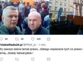 Twitterowy wpis PolskieRadio24