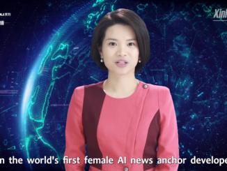 Xin Xiaomeng - cyfrowa prezenterka z chińskiej telewizji