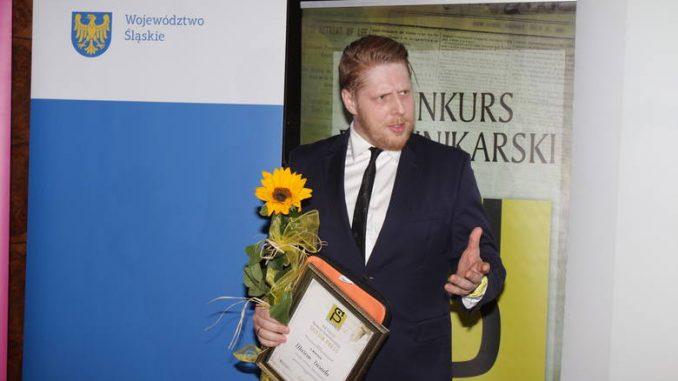 Marcin Zasada z II nagrodą Silesia Press 2019