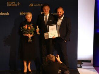 Izabella Sierakowska-Tomaszewska, Michał Kołodziejczyk i Dariusz Maciołek z BGŻ BNP Paribas