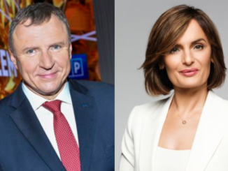 Jacek Kurski i Dorota Gawryluk